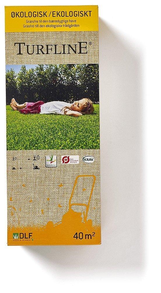 Turfline græsfrø emballage